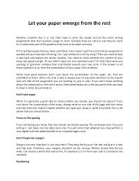 pay someone to write my paper let your paper emerge from the rest whether students like it or not