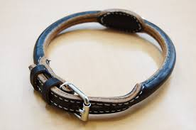 18 m dog collar to chikane round leather m leather width approx