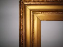 excellent antique large ornate picture frame weddings mirrors 92x68cm