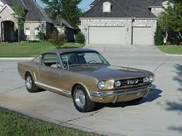 66 Mustang Color Chart 1966 Mustang Colors