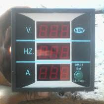 how to wire voltmeters for 3 phase voltage measuring digital multi voltmeter ammeter hz wiring diagram today i want to share a new digital meter which have multi option of