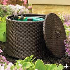 garden hose pot with lid. Garden Hose Container Pot With Lid T