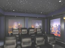 theatre room lighting. use of fiberoptic star ceiling lights for that unique touch theatre room lighting