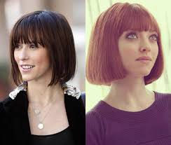 Classy Blunt Bob Hairstyles With Bangs | Hairdrome.com