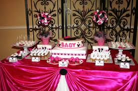 Minnie Mouse Baby Shower Decorations Similiar Mickey And Minnie Baby Shower Ideas Keywords