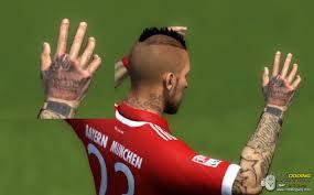 New Tattoo Arturo Vidal By Hender Santiago Fifa 14 At Moddingway