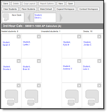Make A Seating Chart Creating Seating Charts Infinite Campus