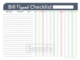 bill organizer template bill organizer printable spreadsheet oyle kalakaari co