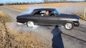 All Chevy black chevy nova : Burnout Fridays: Flat Black Nova Means Business