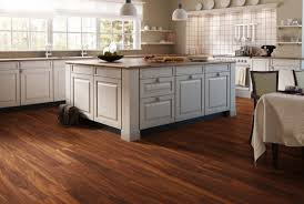 Lovely Kitchen Flooring Hickory Hardwood Tan Laminate Floor In Kitchen Medium Wood  Contemporary Antique Square Natural Photo