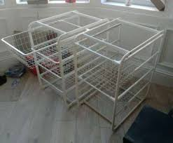 wire shelving at ikea ikea algot wire shelving units in partick glasgow gumtree