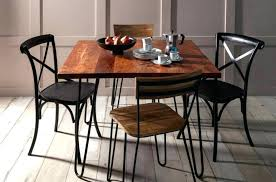 industrial kitchen furniture. Industrial Kitchen Chairs Metal Dining Set Living Room Furniture M