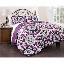 east end living suzani royal lilac 3 piece bedding comforter set purple com