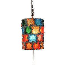 retro pendant lighting fixtures. 1960s vtg feders brutalist glass hanging swag lamp pendant light fixture retro lighting fixtures