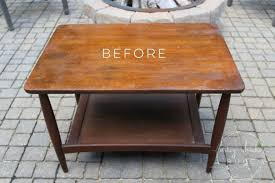 how to modernize old furniture with