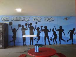 A Healthy Message Mural For Westchester High School