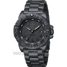 men s luminox navy seal steel colormark 3150 series blackout watch mens luminox navy seal steel colormark 3150 series blackout watch a3152 bo