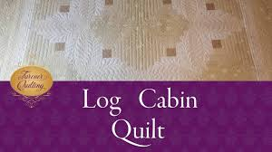 Free Motion Quilting Designs For Log Cabin Free Motion Quilting On A Log Cabin Quilt