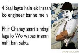 Funny Quotes On Engineering Life In Hindi - funny quotes on ... via Relatably.com