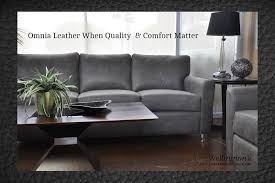 1 Source For Omnia Leather Furniture line