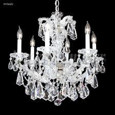 maria theresa 6 arm chandelier