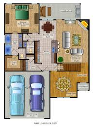 Autocad DWG2 Bedroom Apartment Floor Plan Apartment Floor Plan2 Free Cad Floor Plans