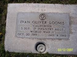Ivan Oliver Loomis (1915-1969) - Find A Grave Memorial