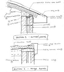 corrugated metal roof details dwg