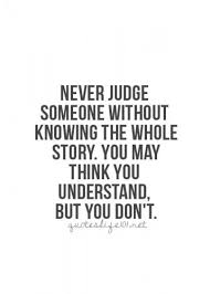 Judging Believing Haters