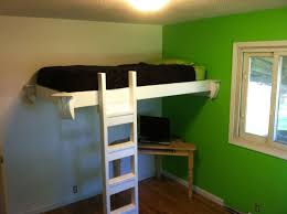 small diy loft bed plans
