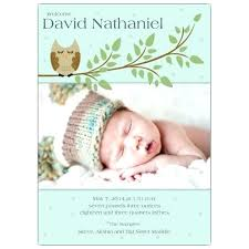 Sample Baby Announcement Baby Birth Announcement Template Make Your Own Birth Announcements