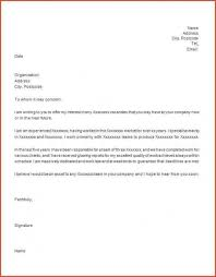 How To Write A To Whom It May Concern Letter Enjoyable Cover Letter