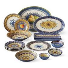 Patterned Dinnerware Simple Banded Patterned Dinnerware Williams Sonoma