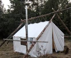 About Sources of Canvas/Synthetic Fabric Wall/Cabin Tents & Living in Tents  on a permanent basis.