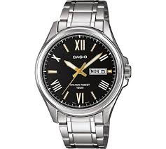 buy casio men s classic day and date bracelet watch at argos co uk casio men s classic day and date bracelet watch307 1816