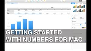 Chart Program For Mac Getting Started With Numbers For Mac Apple Training