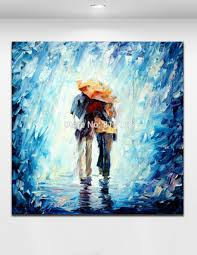 7014 1 on wall art lovers with 2018 100 handpainted color palette oil painting lover embrace walk
