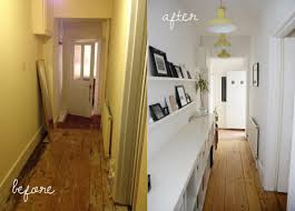 Hallway Decor Inspiration Our Before And After Hallway Makeover Hallway Decorating Ideas