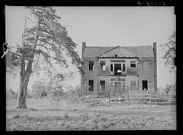 old abandoned plantation owner s home near monticello south carolina