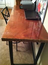 Concrete table/desk