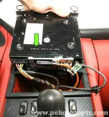 mercedes benz slk 230 radio removal 1998 2004 pelican parts mercedes benz radio replacement at Slk 230 Radio Wiring Diagram
