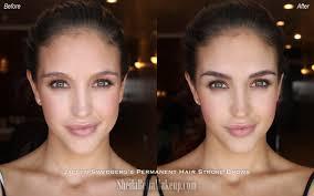 lauren wood lolo gets permanent makeup