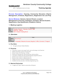 Training Agenda Template 24 Best Images Of Examples Training Agendas Agenda Meeting Template 1