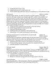 2 - Cad Designer Resume