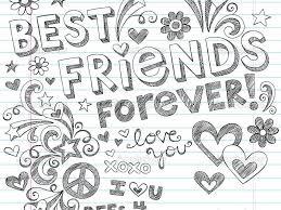 Cute Bff Coloring Pages Master Coloring Pages