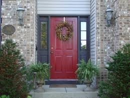 ... Exquisite Pictures Of Front Porch Design And Decoration With Various Painted  Front Doors : Interactive Small ...
