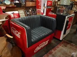 coca cola cooler furniture