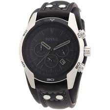 fossil men s watches shop the best deals for 2017 fossil men s stainless steel case black dial chronograph watch