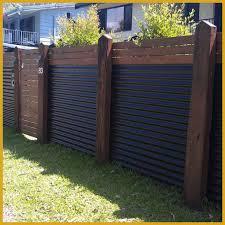 fence backyard backyard fence gate ideas incredible modern fence ideas for your backyard corrugated metal pic