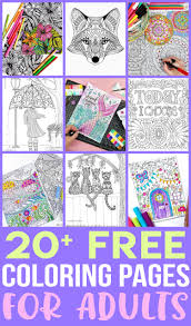 Free coloring pages of kids heroes. Free Adult Coloring Pages Happiness Is Homemade